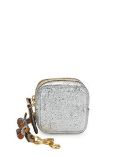 Anya Hindmarch gold and silver purse