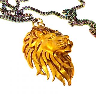 Bex Rox Elsa Lion Pendant and chain RRP �550.00