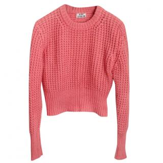 Acne Pink cotton top