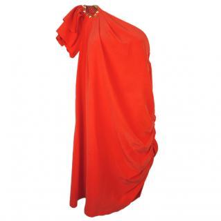 ALICE BY TEMPERLEY  Milena One Shoulder Dress