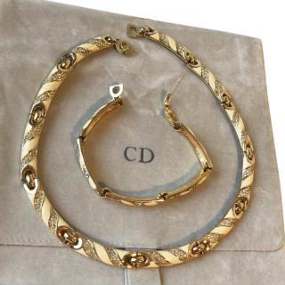 Christian Dior Necklace and Bracelet