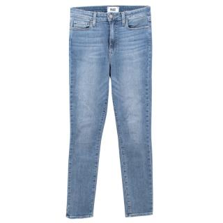 Paige light wash denim jeans