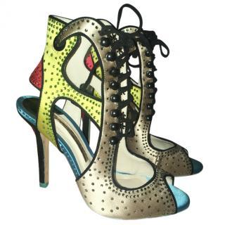 Sophia Webster multi coloured sandals