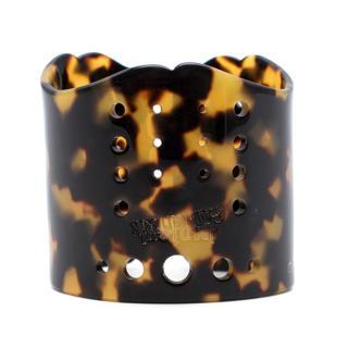 Jean Paul Gaultier Faux Tortoise Shell Cuff