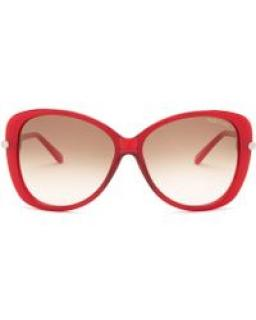 Tom Ford Red Linda Butterfly sunglasses