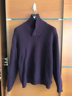 Ted Baker Tyrian Purple Wool Blend Sweater