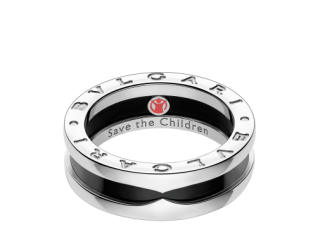 Bvlgari Save the Children Silver Ring