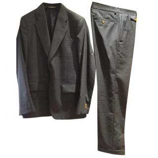 Vivienne Westwood charcoal grey pinstriped suit