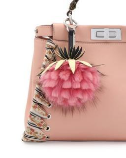 Fendi fruits pineapple bag charm