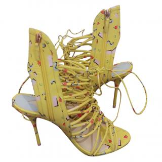 Sophia Webster Yellow/Multi Lacey Sandals