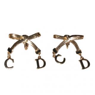 Dior CD logo earring