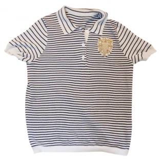 Dior classic badge stripe top tshirt
