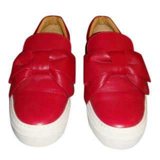 Buscemi Red Sneakers
