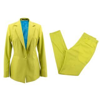 Gresham Blake lime green suit