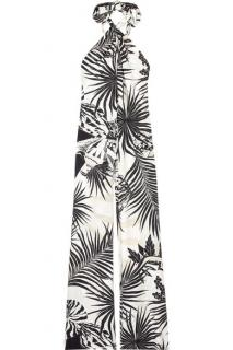 Stella McCartney tropical silk jumpsuit