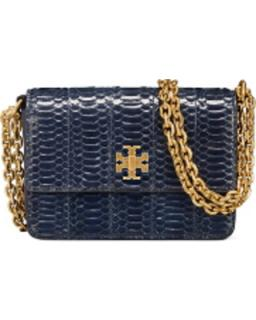 Tory Burch Kira snakeskin bag
