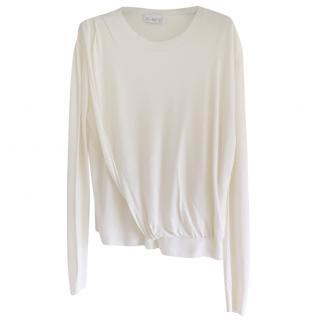Raey cream wool jumper