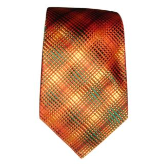Turnbull & Asser Orange & green tie