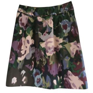 Max Mara floral skirt