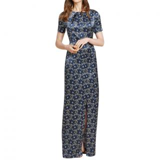 Beulah silk painted lady printed gown