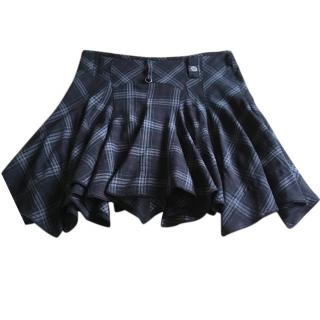 High by Claire Campbell Checked Skirt