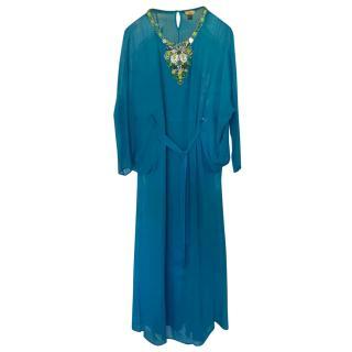 Issa dress with embelished neckline