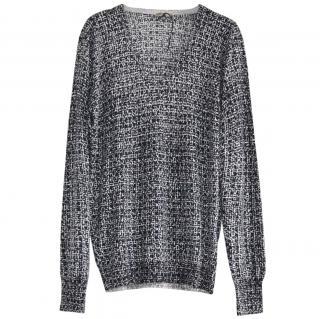 Bottega Veneta cashmere-silk v-neck jumper