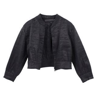 Donna Karan Cropped Jacket
