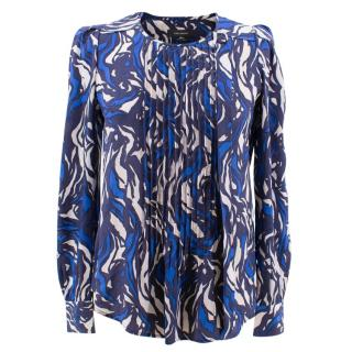 Isabel Marant silk long sleeve top