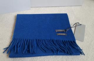 N.Peal cashmere scarf Reef blue