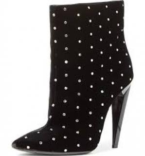 Saint Laurent Freja Studded Boots