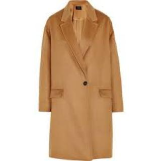 Isabel Marant Corey Wool/Cashmere Blend Coat