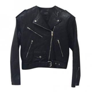 Isabel Marant Leather Biker Jacket
