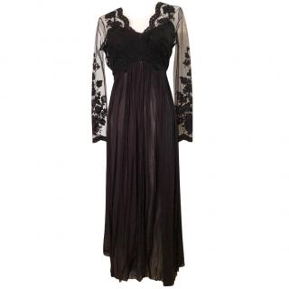 Catherine Deane Lace Panelled Gown