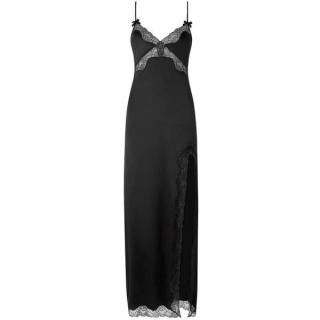 Agent Provocateur Luna Long Slip Black