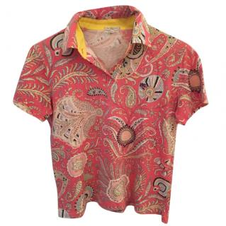 Etro Patterned T-shirt