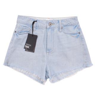 Paige Margot High Rise Denim Shorts