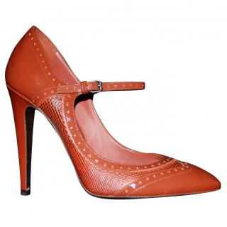 Bottega Veneta patent leather heels
