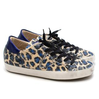 Philippe Model sequinned trainers