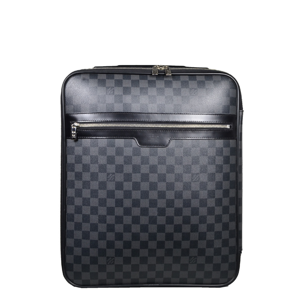 Louis Vuitton Men's Graphite 46 Pegase Rolling Luggage