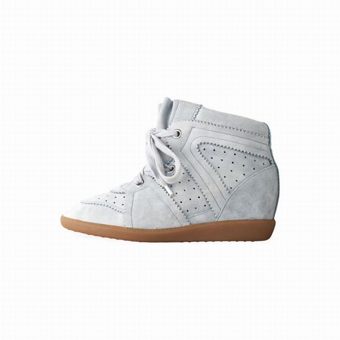 6450a00dab4 Isabel Marant Bobby Suede Wedge Sneakers 1 | HEWI London