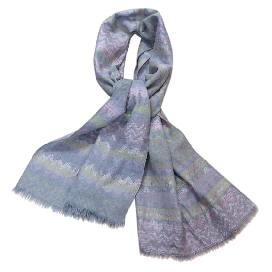 Missoni zigzag print scarf