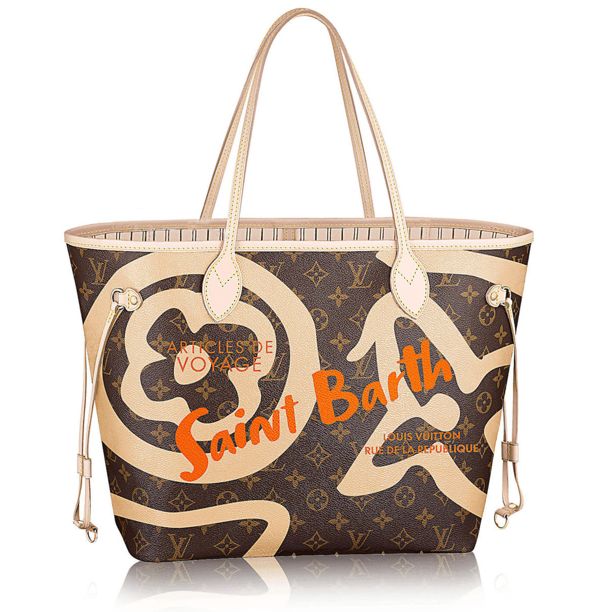 30c908e518d8 Louis Vuitton St Barts Limited Edition Neverfull Tote