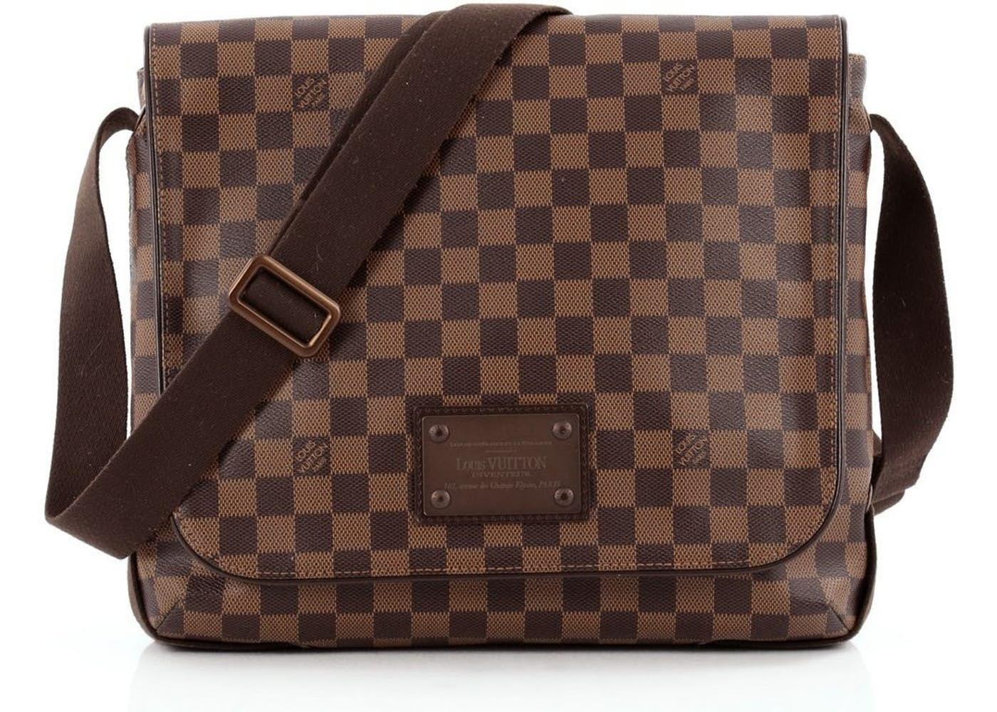 63a00bc3cb6b Louis Vuitton Brooklyn Mm Damier Messenger Bag