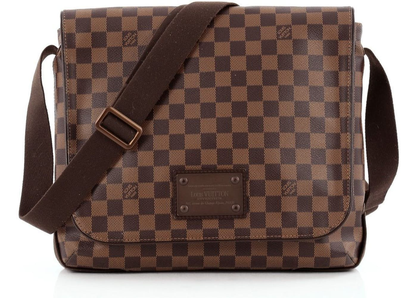 ac236e3cde96 Louis Vuitton Brooklyn Mm Damier Messenger Bag | HEWI London