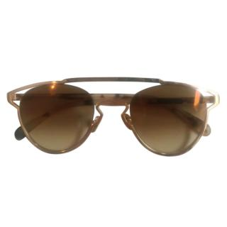 AM Pink Gold Sunglasses