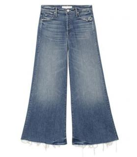 Mother denim stunner roller ankle chew jeans