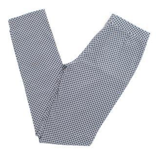 Stella McCartney patterned silk trousers