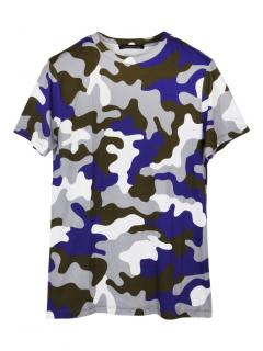 Christopher Kane camou multicolour T-shirt