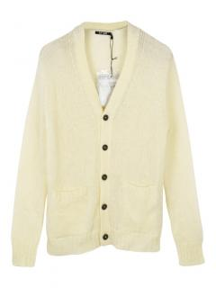 BLK DNM NYC mohair and wool cardigan